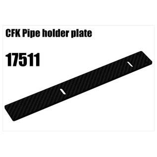 RS5 Modelsport CFK Pipe holder plate