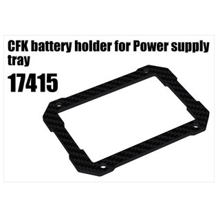 RS5 Modelsport CFK battery holder for Power supply tray