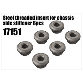 RS5 Modelsport Steel threaded insert for chassis side stiffener