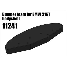 RS5 Modelsport Bumper foam for BMW 316T bodyshell
