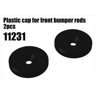 RS5 Modelsport Plastic cap for front bumper rods 2pcs