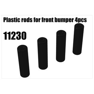 RS5 Modelsport Plastic rods for front bumper 4pcs