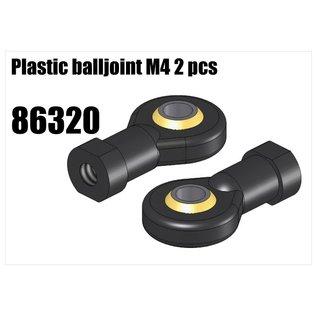 RS5 Modelsport Plastic balljoint M4 2pcs