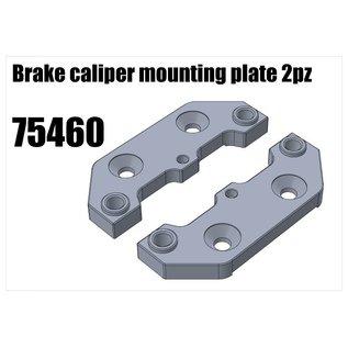 RS5 Modelsport Brake caliper mounting plate 2pz