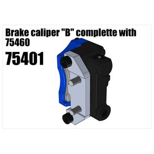 "RS5 Modelsport Brake caliper ""B"" complette with 75460"