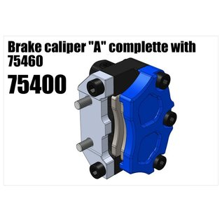 """RS5 Modelsport Brake caliper """"A"""" complette with 75460"""