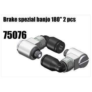 "RS5 Modelsport Brake spezial banjo 180"" 2pcs"