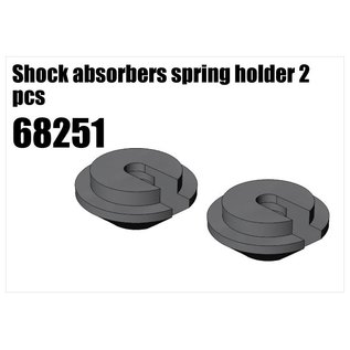 RS5 Modelsport Shock absorbers spring holder 2pcs