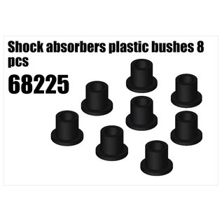 RS5 Modelsport Shock absorbers plastic bushes 8pcs