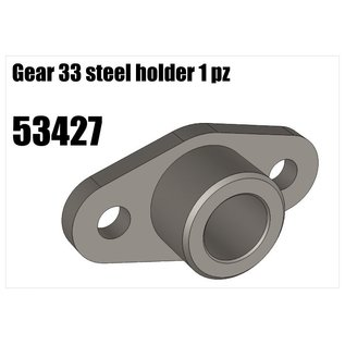 RS5 Modelsport Steel transmitter gear shaft holder