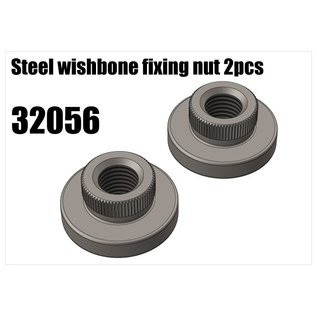 RS5 Modelsport Steel wishbone fixing nut 2pcs
