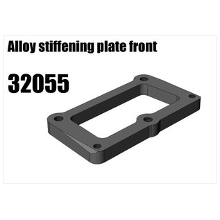 RS5 Modelsport Alloy stiffener and wing fixing plate front