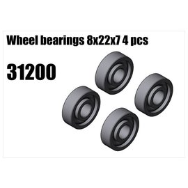 RS5 Modelsport Wheel bearings 8x22x7