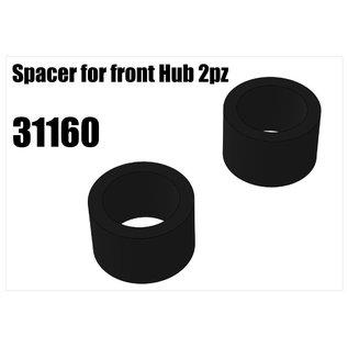 RS5 Modelsport Steel spacer for front Hub 2pcs