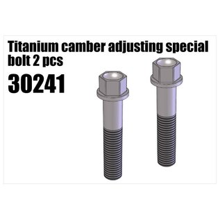 RS5 Modelsport Steel camber adjusting screw long 2pcs