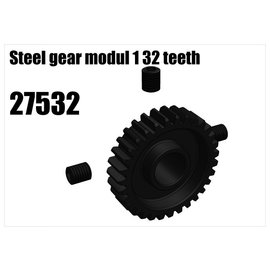 RS5 Modelsport Steel gear modul 1 32 teeth