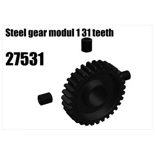 RS5 Modelsport Steel gear modul 1 31 teeth