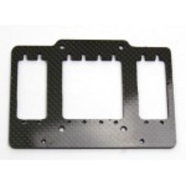 HARM Racing Carbon RC-plate for two small steering servos