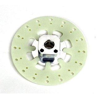 HARM Racing Felgenvierkant 12.5mm mit Aufnahme Bremsscheibe Evo, 2 Stk.