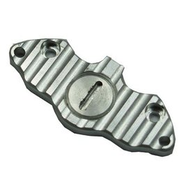 HARM Racing Retaining plate for brake pads with adjustment screw