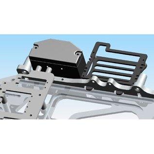 HARM Racing SX-5 CFK-Akkuhalter fur LiFe 2500mAh, Komplett
