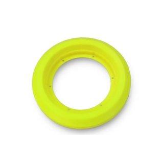 Roadies Bike Felge Rear, neon geel, tweedelig