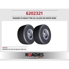 Roadies F1 Slick Reifen (Compound F2) Heck