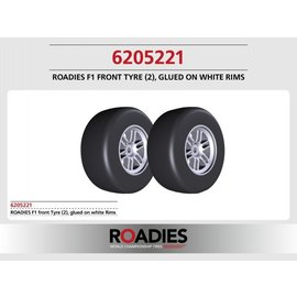 Roadies F1 Slick Tyre (Compound F1) front