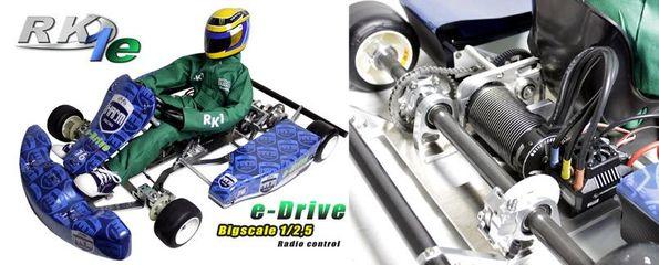 Racing Kart RK-1E E-Drive
