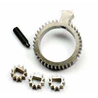 SCS M2 Gear-wheel set for adjuster unit, complete (PL2)