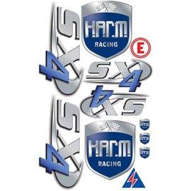 HARM Racing Aufklebesatz H.A.R.M. SX-4