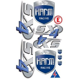 HARM Racing Stickerset H.A.R.M. SX-4