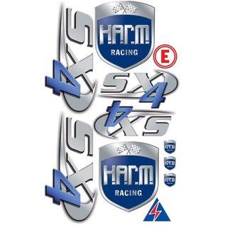 HARM Racing Stickerset H.A.R.M. SX-4