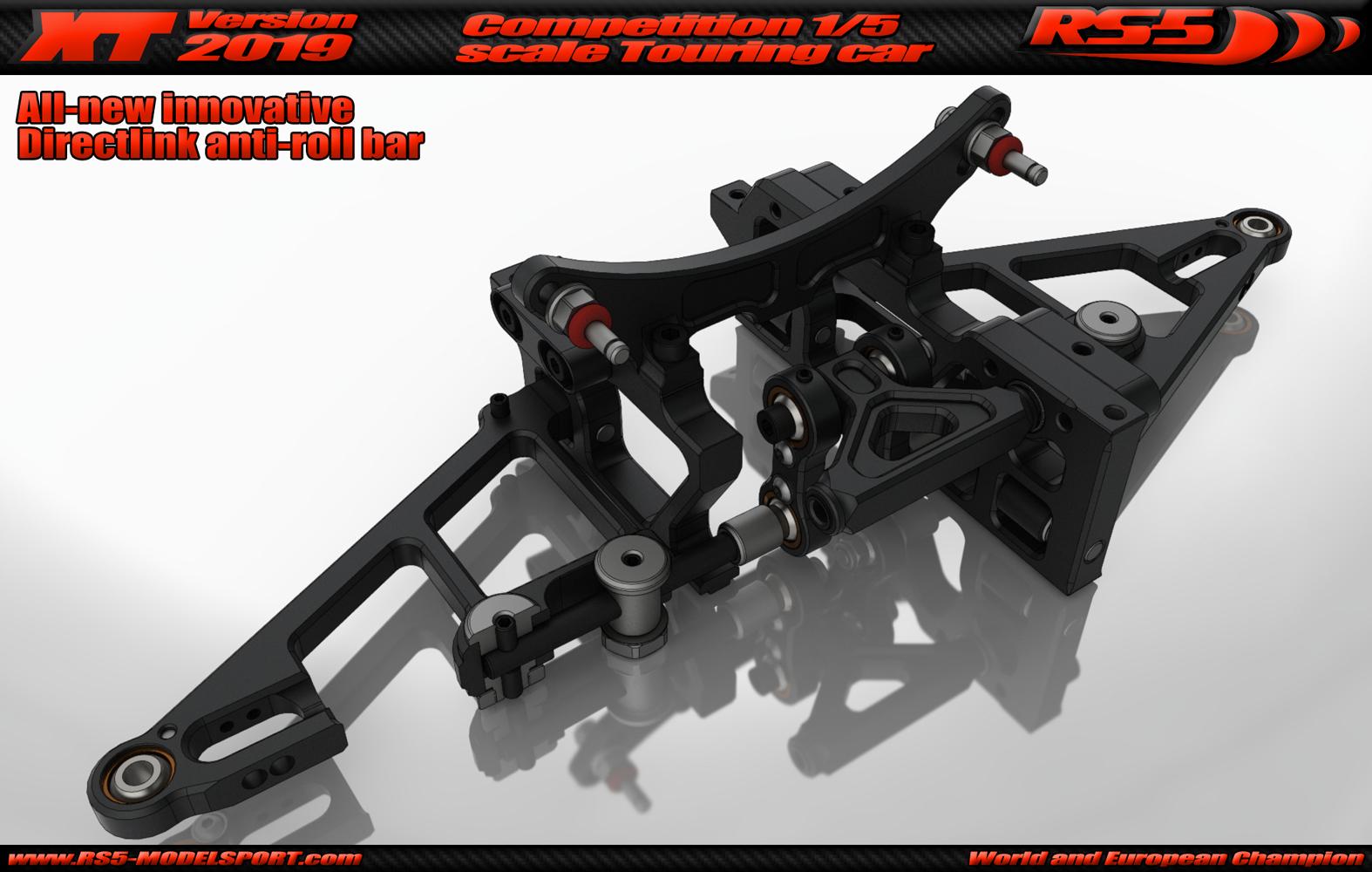 RS5-XT2019 new directlink stabiliser front