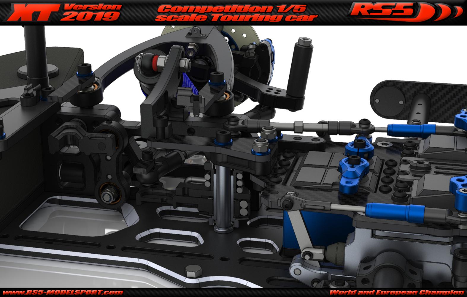 RS5-XT2019 RC unit