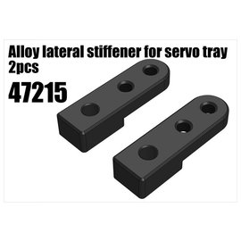 RS5 Modelsport Alloy lateral stiffener for servo tray 2pcs