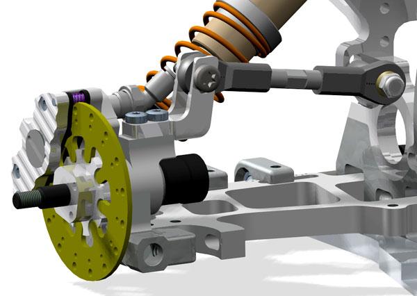 Rear hub elevation pro SX-5/EX-5