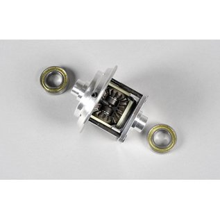 FG modellsport Aluminium differential fourfold self-lock 4WD, set