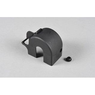 FG modellsport Rear axle cover w. rubber seal, 4WD, set