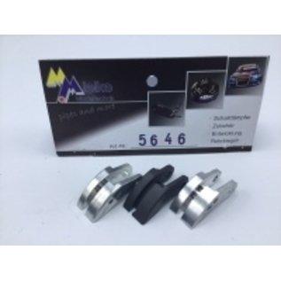 Mielke Modelltechnik Mix Kupplungsbeläge (2 x Alu / 1 x Carbon) für Converse Clutch