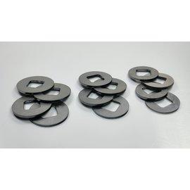 SCS M2 Stalen differentieel schijven - Set 23,25,27mm (PL2)
