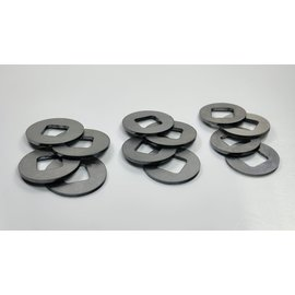 SCS M2 Steel Diff-Shim 23,25,27mm (PL2)