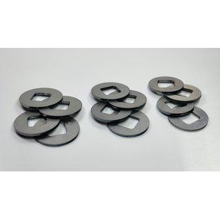 SCS M2 Steel Diff-Shim 23,25,27mm (PL2)