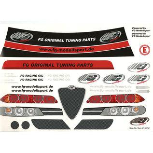 FG modellsport Dekorbogen Alfa Romeo 156