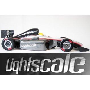 Lightscale F1 Bodyshell Silhouette 1.0mm lexan unpainted (universal)