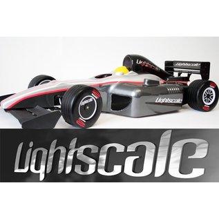Lightscale Silhouette Formel 1 Karosse unlackiert