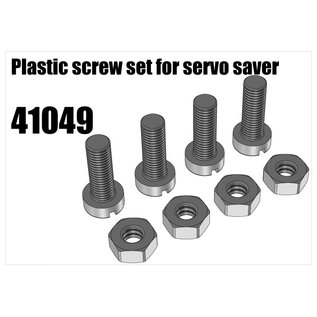 RS5 Modelsport Plastic screw set for servo saver
