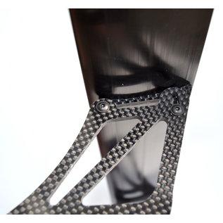 SCS M2 GT-C & K-C6 Carbon / Aluminium achtervleugel - Copy