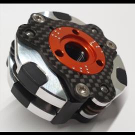 Mecatech Racing Einstellbare 3 Backen kupplung mit Bi-Material-Beläge
