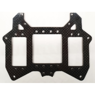 Mecatech Racing Double servo radioplate for short chassis